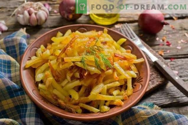 Patatas fritas en el horno: cuando quiera mimarse