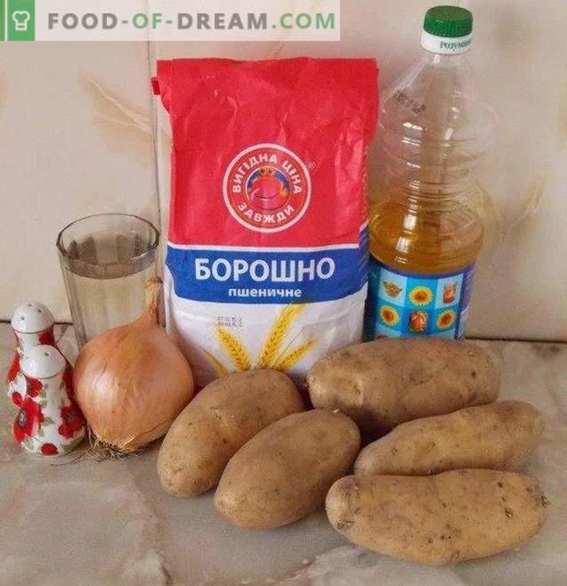 Empanadillas con patatas