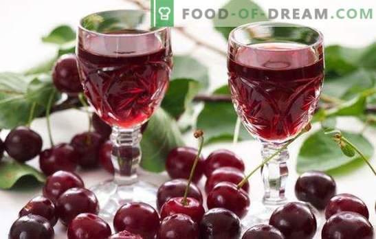 El licor de cereza casero en vodka es un manjar delicioso para adultos. ¿Qué cocinar con tintura de cereza casera en vodka?