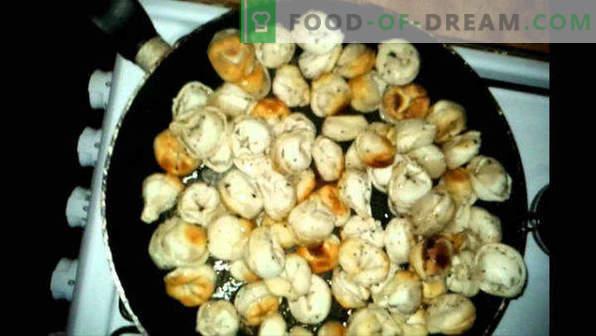 Cómo freír albóndigas en una sartén, hervida, congelada