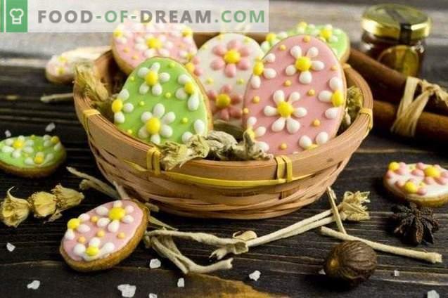 Galletas de Pascua con glaseado
