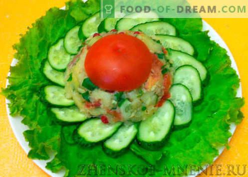 Ensalada húngara con jamón