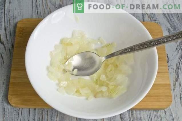 Berenjenas rellenas de arroz y pollo