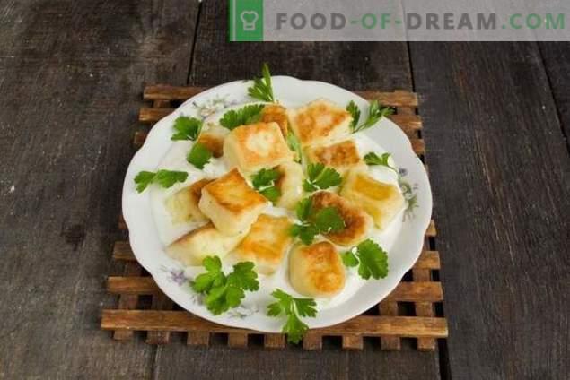 Švilpikai - Lithuanian potato dumplings