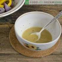 Ensalada de Cuaresma con papas moradas