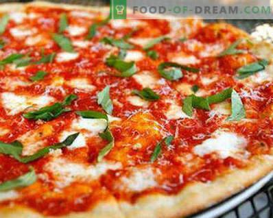 Masa para pizza sin levadura como en la pizza, recetas
