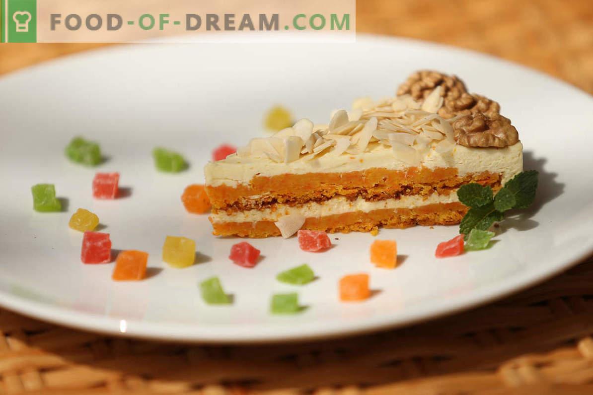 Receta de pastel de zanahoria: cómo cocinar un dulce y delicado pastel de verduras en casa