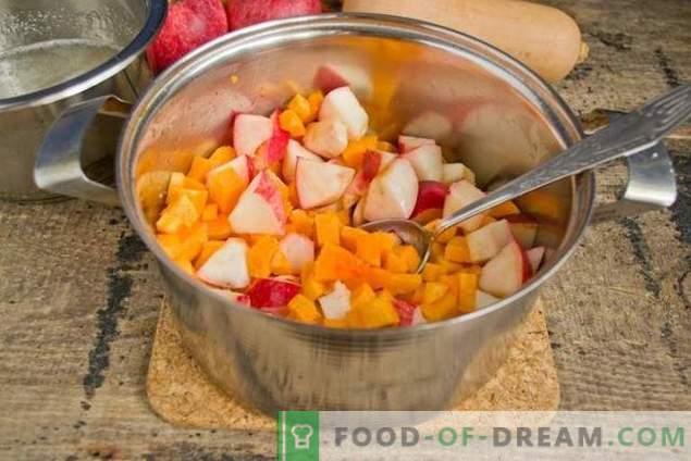 Dżem jabłkowy z dynią - słodki smak jesieni