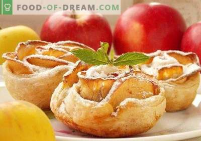 Rosas de Manzana al Horno de Hojaldre