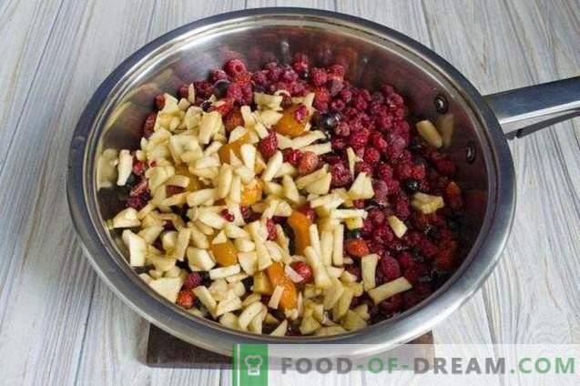 Mermelada de frutas y bayas