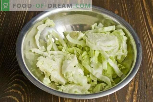 Ensalada de verduras en escabeche para el invierno
