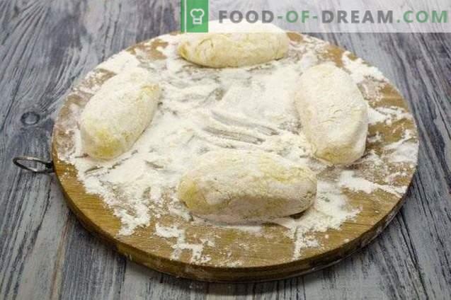 Patata zrazy - empanadas de papa con hígado de pollo