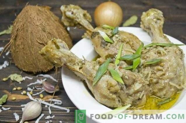 Curry con Pollo y Coco
