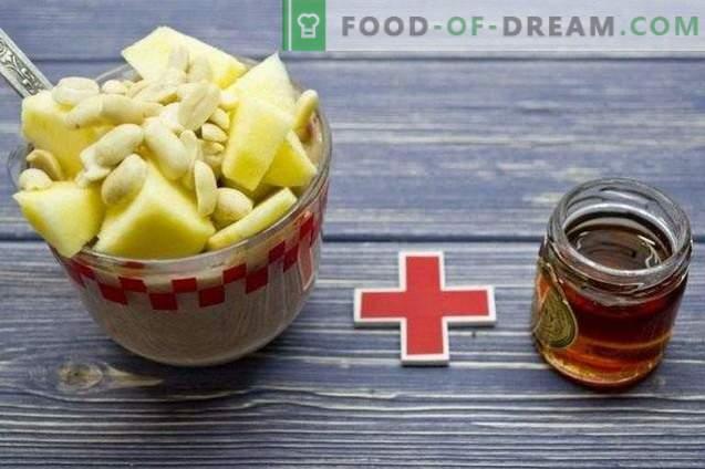 Batidos de manzana y Hércules - Desayuno saludable