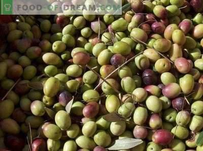 Aceitunas o aceitunas: ¿cuál es la diferencia y el beneficio?