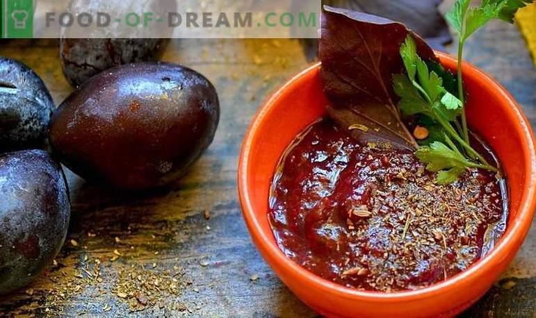 Salsa Tkemali para el invierno: 5 recetas paso a paso para preparar la salsa en diversas variaciones