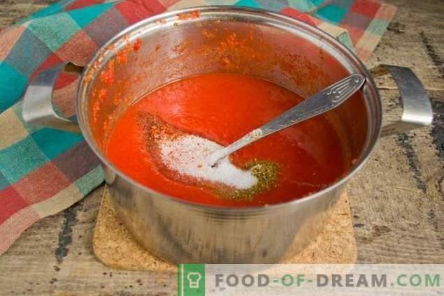 Salsa de tomate casera, ¡para un kebab incomparablemente sabroso!