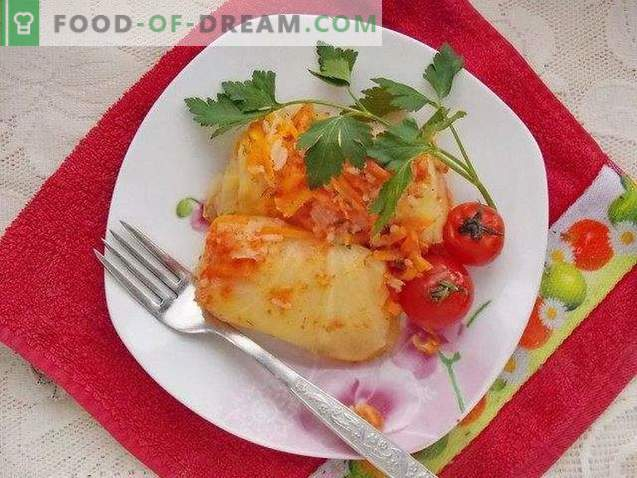 Rollitos de repollo con verduras
