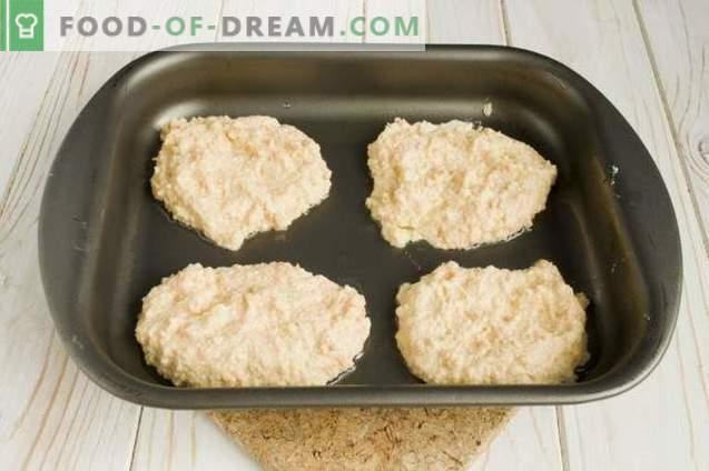 Buñuelos de coliflor en el horno