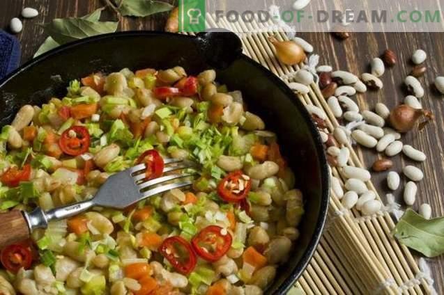 Guiso de verduras con frijoles