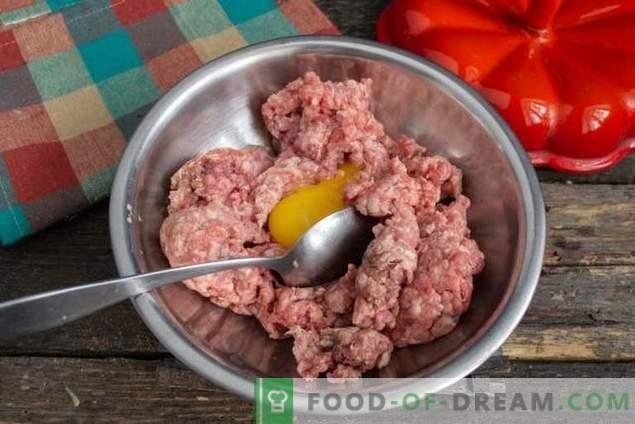 Italienische Fleischbällchen oder Fleischbällchen in Gemüsesauce