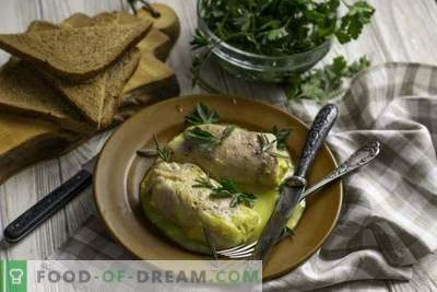 Juicy Cordon Blue Chicken Rolls su Bechamel