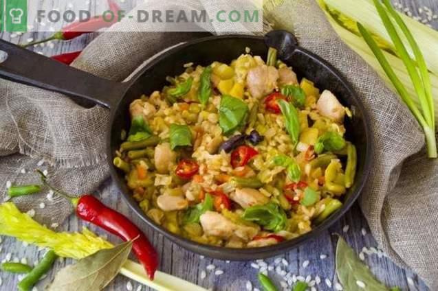Solyanka team con pollo y arroz arborio