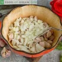 Cerdo con calabacines y patatas