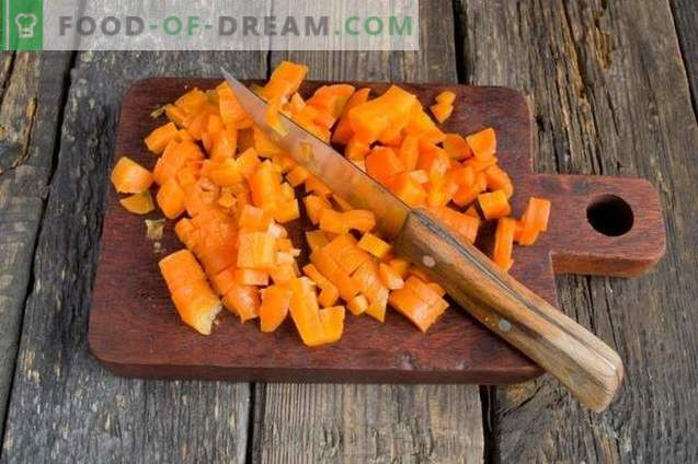 Ensalada de pollo con zanahorias y queso