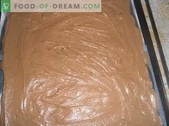 Comment faire cuire un gâteau Le lait des oiseaux à la semoule, une recette détaillée.