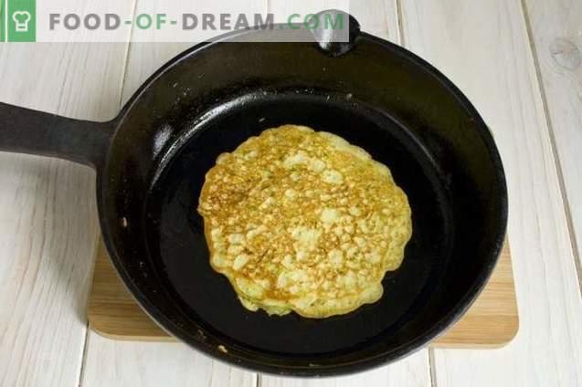 Buñuelos de calabacín con harina de maíz