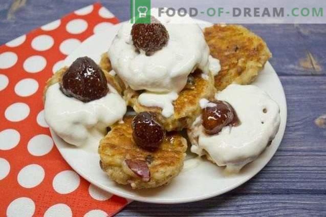 Cheesecake con farina d'avena e mele