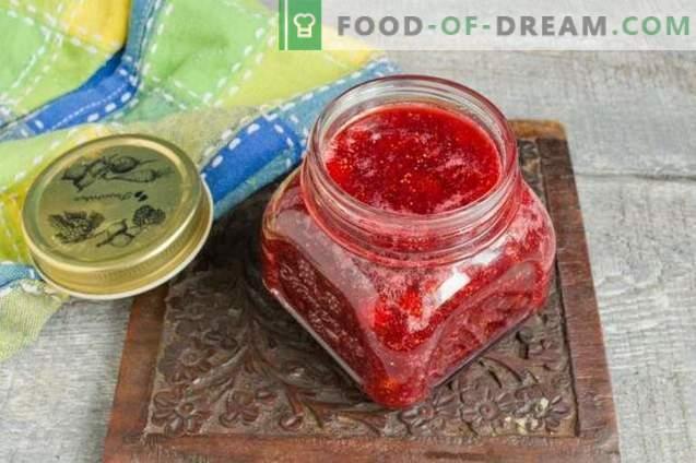 Fresa gruesa o mermelada de fresa