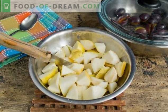 Mermelada de pera y ciruela: la más fácil de preparar