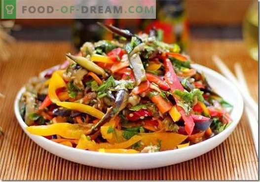 Berenjena coreana - las mejores recetas. Cómo cocinar correctamente y sabroso la berenjena en coreano.