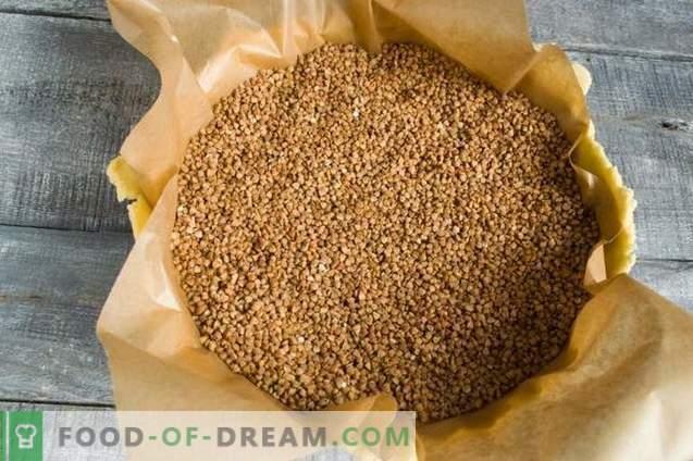 Pastel de arena con requesón, piña y coco