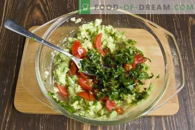 Guacamole - Salsa de aguacate
