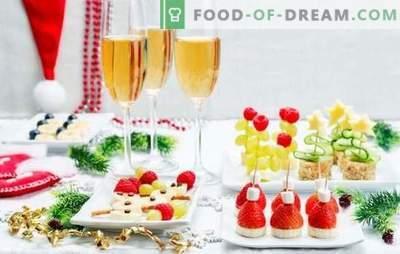 Co jeść szampana: przepisy kulinarne i wskazówki