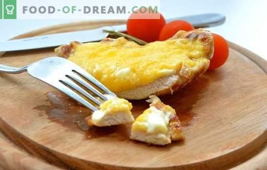 Chuletas de cerdo con queso: ¿eres clásico, rebozado o con cereza? Recetas de chuletas de cerdo todos los días y festivos con queso
