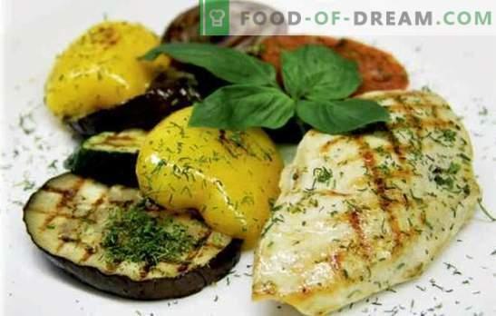 Pechuga de pollo jugosa con verduras: delicioso! Las mejores recetas para pechuga de pollo con verduras, queso, albaricoques secos, frijoles, aceitunas
