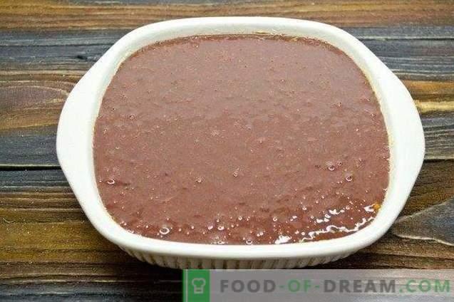 Paté de hígado de res con champiñones y verduras en el horno