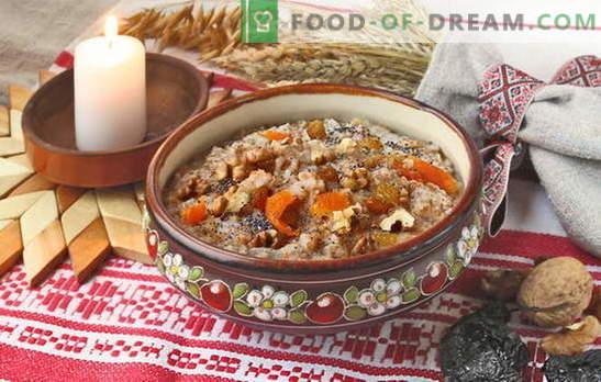 Cómo cocinar arroz con kutia con pasas. Recetas para kutia conmemorativa con pasas y kutia navideña
