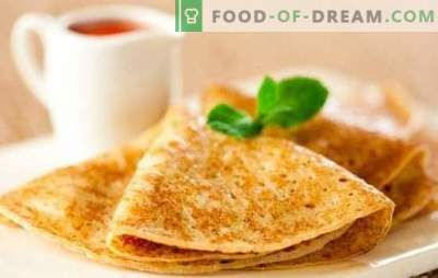 Los panqueques en kéfir son finos: una receta paso a paso, secretos de cocina. Aprendiendo a cocinar deliciosos panqueques finos en kéfir