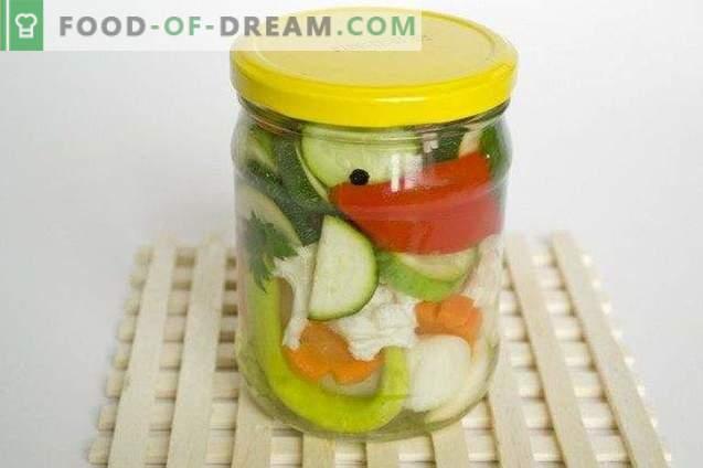 Fuente de verduras para el invierno
