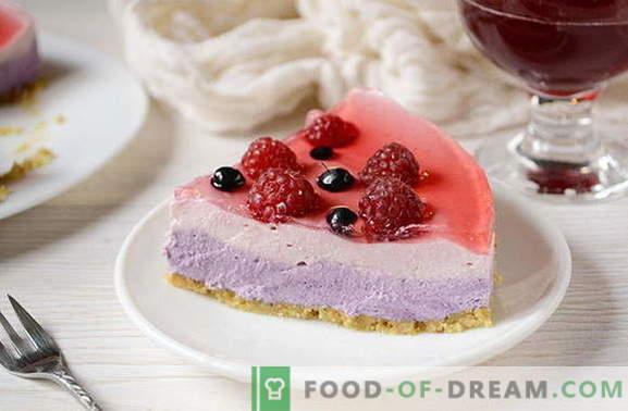 El pastel de gelatina hecho en casa sin hornear es el postre perfecto para el fin de semana. ¡Escribe la receta!