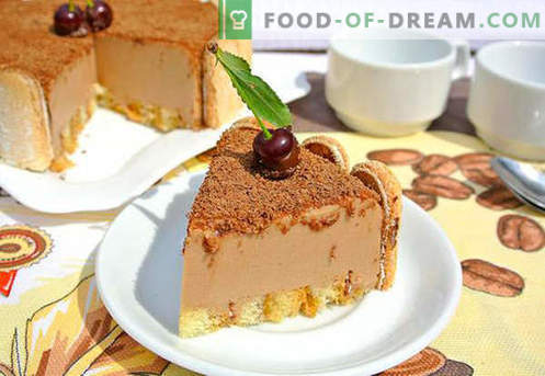 Soufflé de pastel - las mejores recetas. Cómo cocinar de forma rápida y sabrosa un pastel de soufflé.