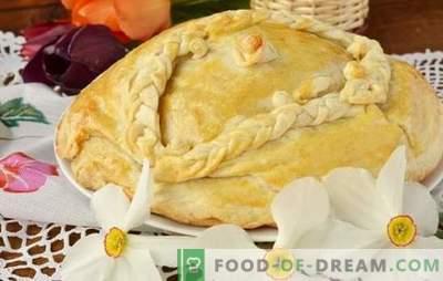 Kurnik en kéfir con papas - ¡un pastel delicioso! Recetas sencillas de kurnik de pollo delicioso en kéfir con papas para horno y multicooker