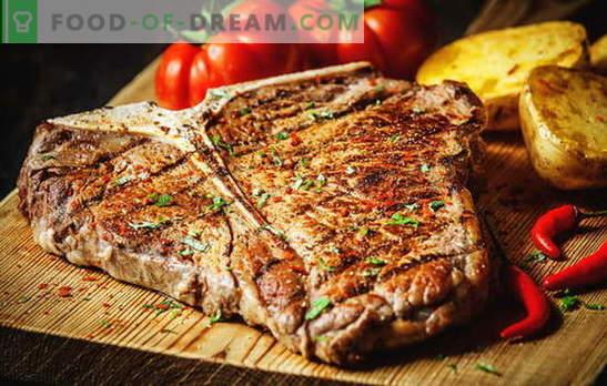Cómo freír un filete para hacerlo perfecto. ¿Cuánto se puede freír en una sartén, parrilla o brasas, encurtidos y salsas?