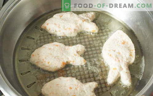 Las tortas de pescado son las mejores recetas. Cómo cocinar correctamente y sabroso las empanadas de pescado.
