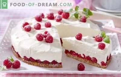 Torta delicada y sabrosa baja en calorías: recetas delicadas para dulces delgados. Variantes de crema y masa para pastel bajo en calorías